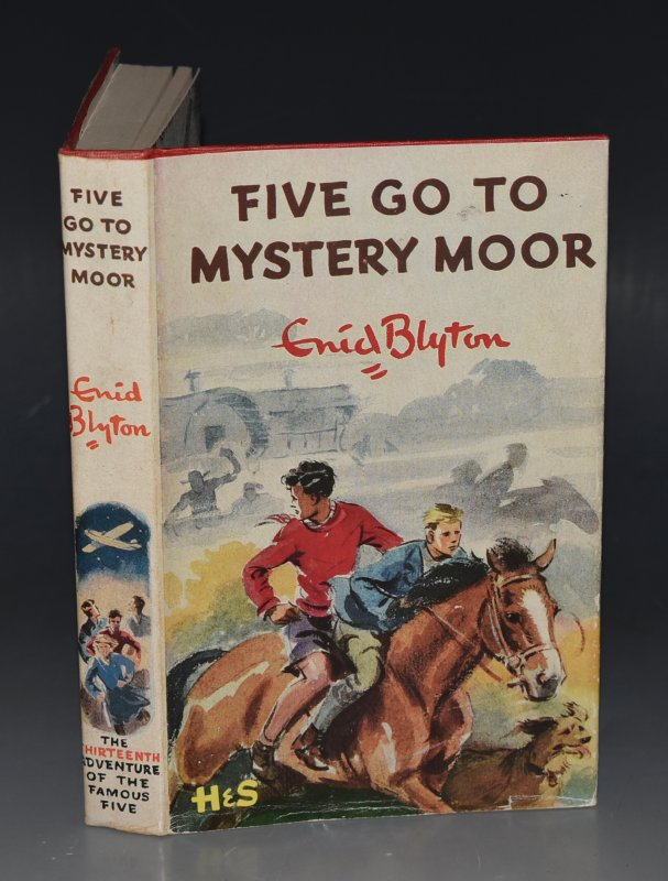 Image for Five Go To Mystery Moor. Pictured by Eileen A.Soper.