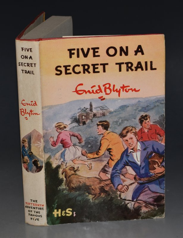 Image for Five On A Secret Trail. Pictured by Eileen A.Soper.