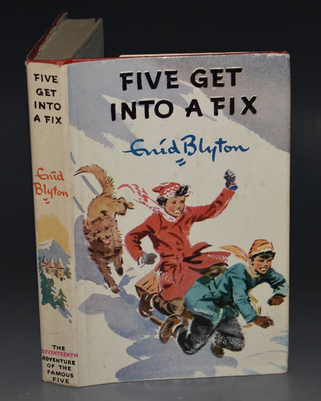 Image for Five Get Into A Fix . Pictured by Eileen A.Soper.