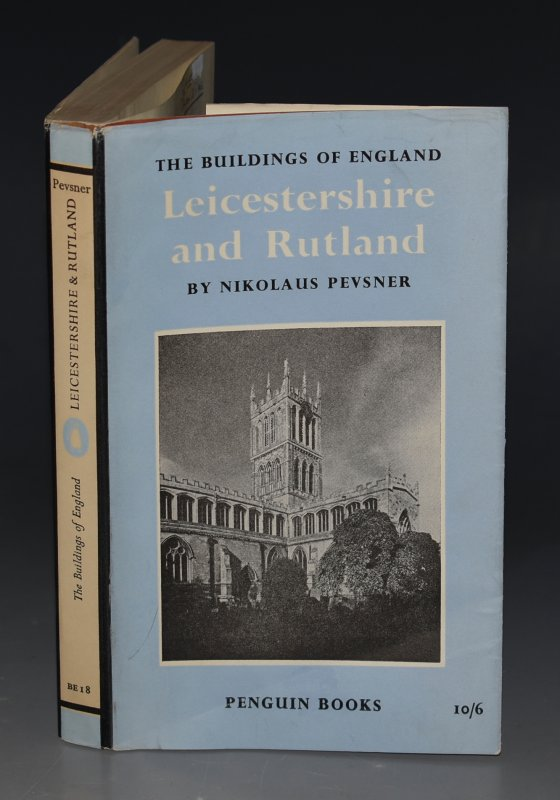 Image for Leicestershire and Rutland. The Buildings of England.