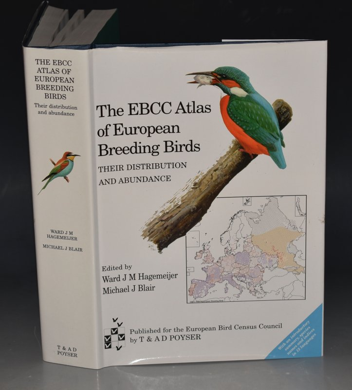 Image for The EBCC Atlas of European Breeding Birds. Their Distribution and Abundance.