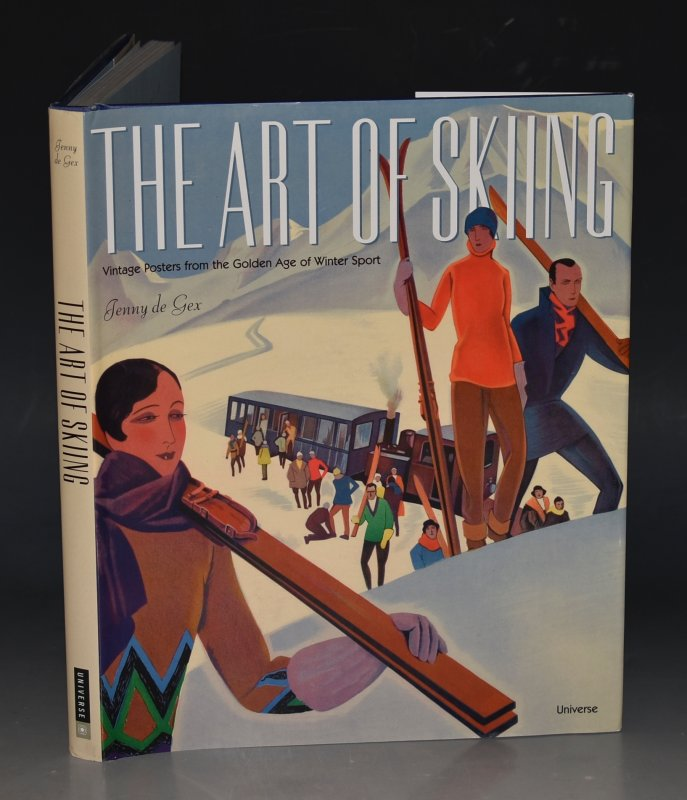 Image for The Art of Skiing Vintage Posters from the Golden Age of Winter Sport.