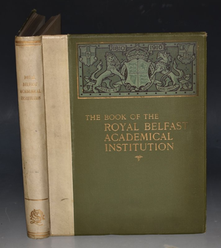 Image for Royal Belfast Academical Institution Centenary Volume 1810-1910