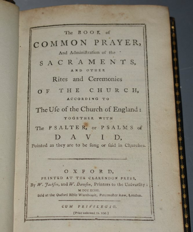 Image for The Book Of Common Prayer, and New Version of the Psalms of David. ... And Administrations of the Sacraments and Other Rites and Ceremonies of the Church, according to the use of the Church of England; Together with the Psalter or Psalms of David, Pointed as they are to be sung or said in Churches. PLUS; A New Version of the Psalms of David, Fitted to the Tunes used in Churches. By N. Brady, D.D. Chaplain in Ordinary, and N. Tate, Esq. Poet-Laureat to His Majesty. TWO VOLUMES IN ONE.