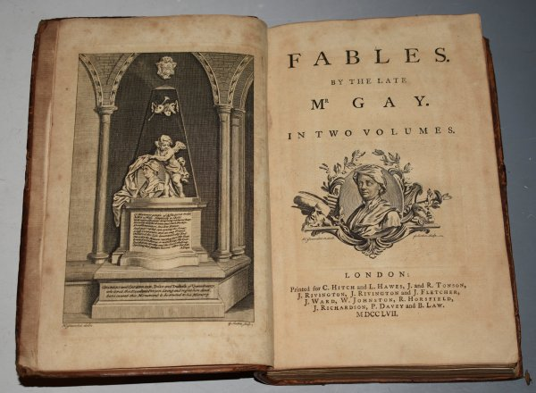 Image for Fables. By The Late Mr. Gay. In Two Volumes. (Bound in One.)