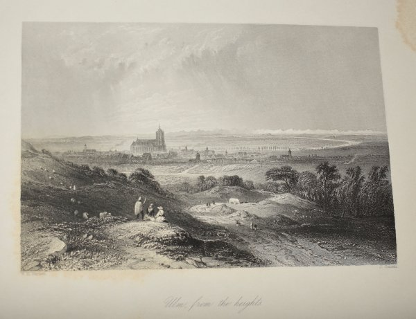 Image for The Danube, Its History, Scenery, and Topography. Splendidly Illustrated, From sketches taken on the spot by Abresch, and drawn by W.H. Bartlett, Esq.