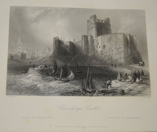 Image for The Scenery and Antiquities of Ireland, Illustrated From Drawings by W. H. Bartlett. The Literary Portion of the work by J. Stirling Coyne. In Two Volumes.