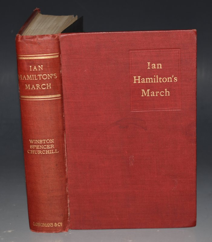 Image for Ian Hamilton's March. Together with extracts from the Diary of Lt.H.Frankland. A Prisoner of War at Pretoria.