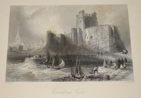 Image for The Scenery and Antiquities of Ireland, Illustrated From Drawings by W. H. Bartlett. The Literary Portion of the work by N. P. Willis, and J. Stirling Coyne. In Two Volumes.