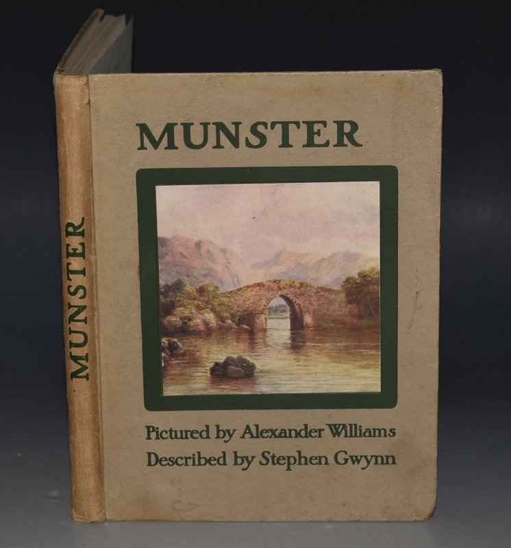 Image for Munster Described by Stephen Gwynn, Pictured by Alexander Williams. Signed by Artist.
