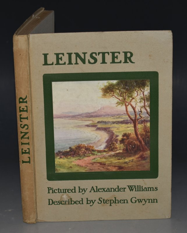 Image for Leinster Described by Stephen Gwynn, Pictured by Alexander Williams. Signed by Artist.