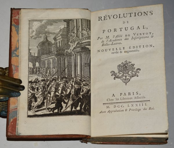 Image for Revolutions De Portugal, Par M. L'Abbe de Vertot, de l'Academie des Inscriptions & Belles-Lettres. Nouvelle Edition, Revue & Augmentee. In French Language.