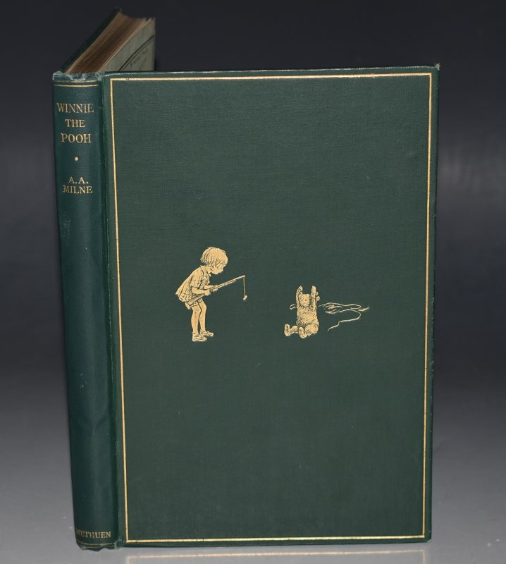 Image for Winnie-The-Pooh By A. A. Milne. With Decorations by Ernest H. Shepard. Fifth Edition.