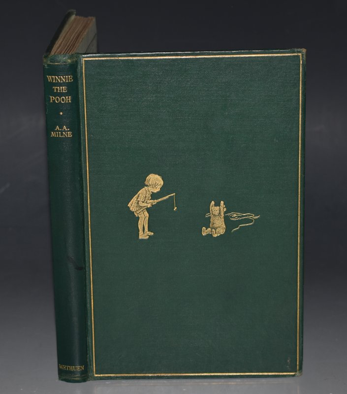 Image for Winnie-The-Pooh By A. A. Milne. With Decorations by Ernest H. Shepard. FIRST EDITION.