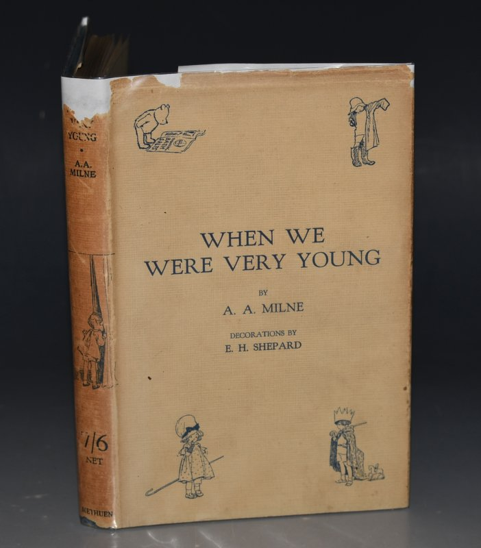 Image for When We Were Very Young. By A. A. Milne with Decorations by Ernest H. Shepard. Fourteenth Edition. With WRAPPER.