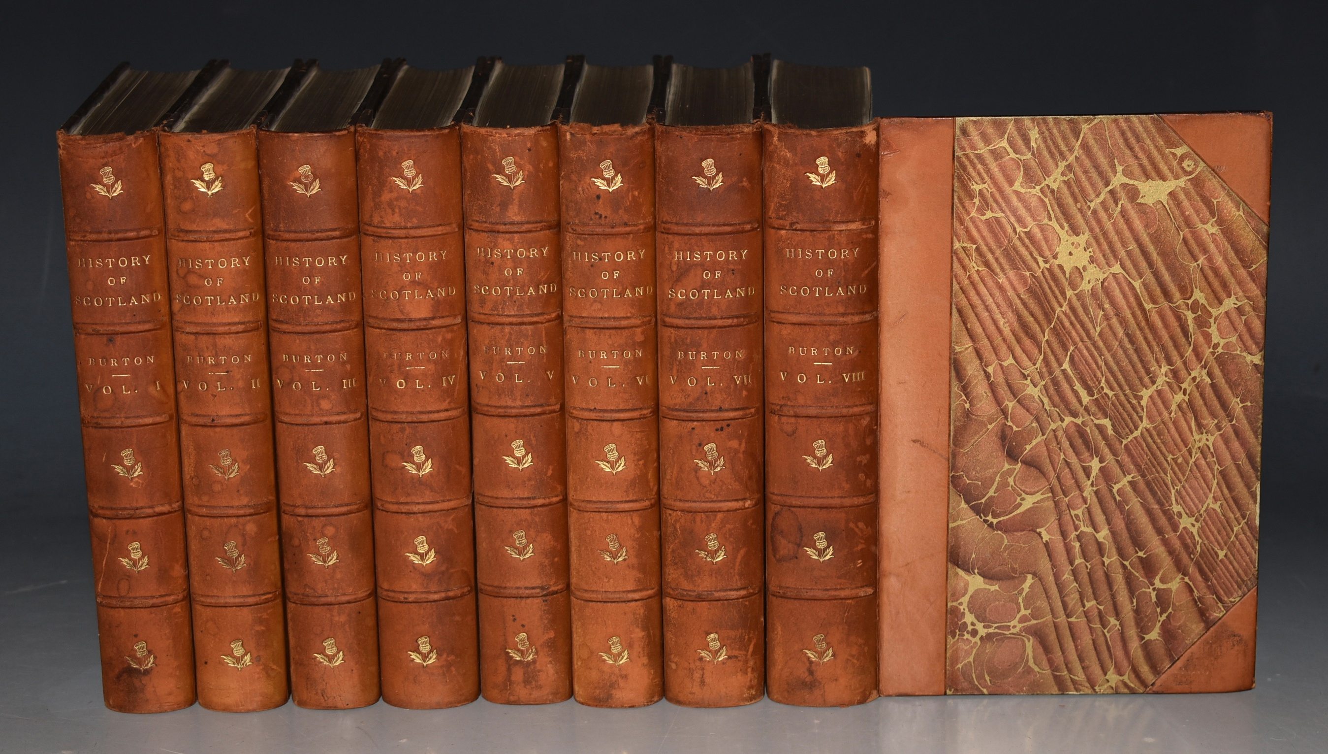 Image for The History of Scotland, From Agricola's Invasion to the Extinction of the Last Jacobite Insurrection. New Edition. In Eight Volumes.