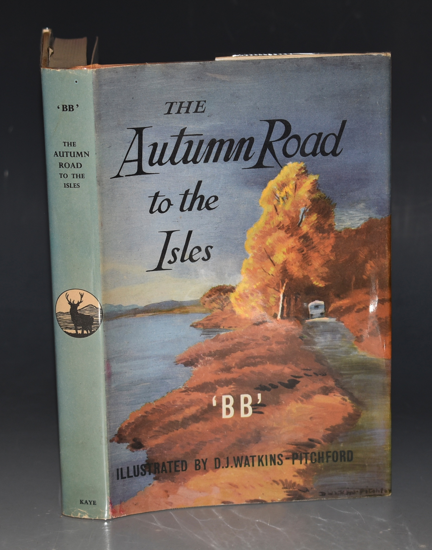 Image for The Autumn Road to the Isles. Illustrated by D.J. WATKINS-PITCHFORD.