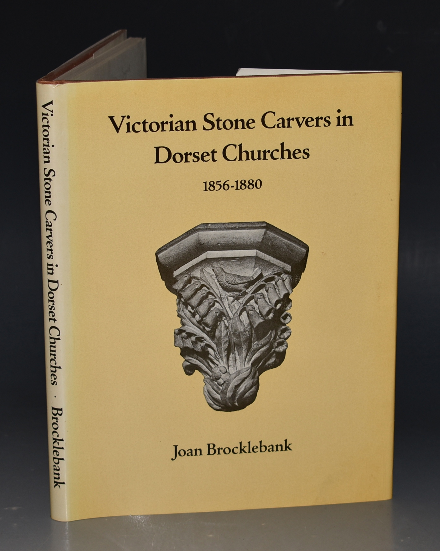 Image for Victorian Stone Carvers in Dorset Churches 1856-1880. with excerpts from the reports of the consecration ceremonies in the Dorset County Chronicles and other sources. Signed by Author