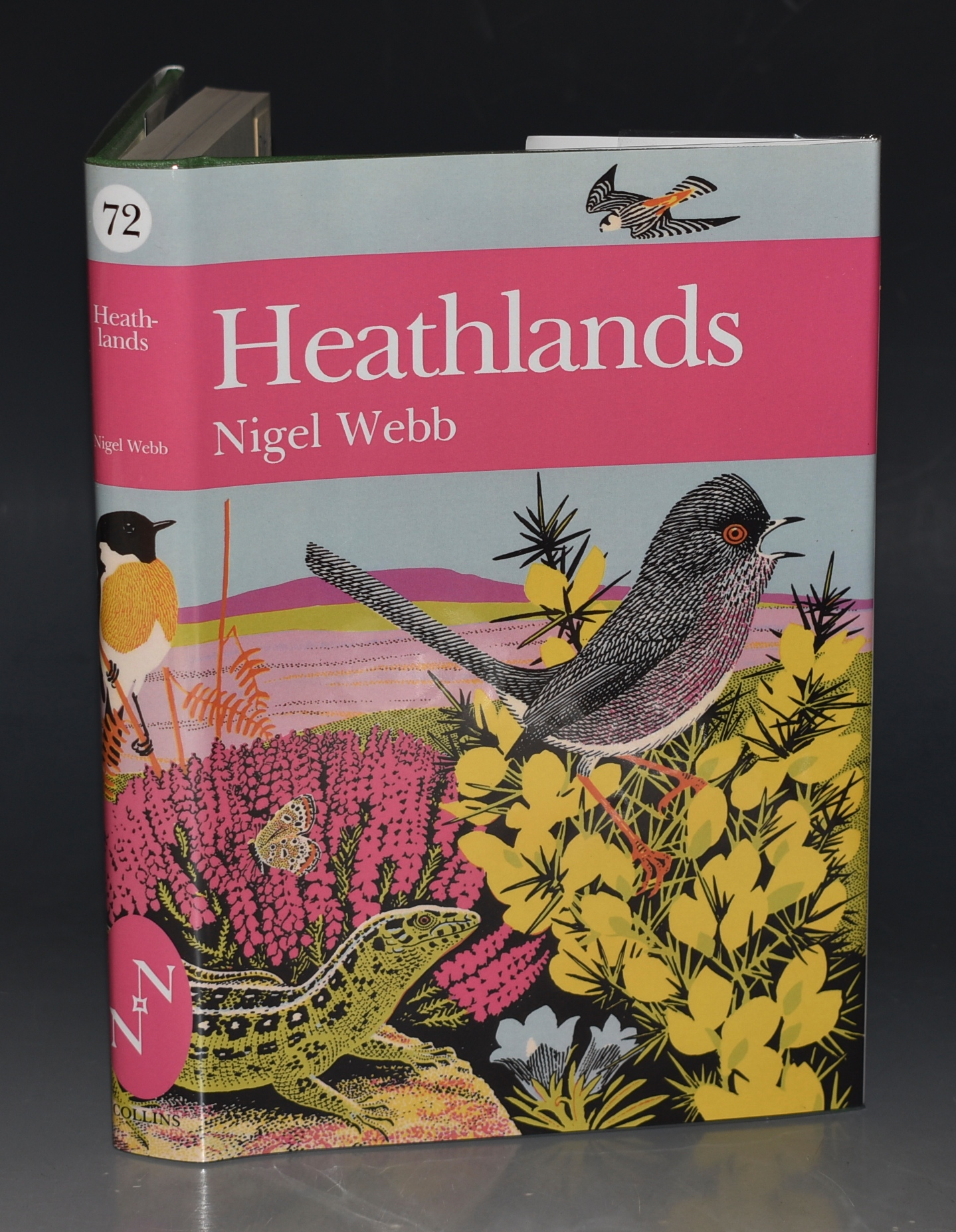 Image for Heathlands. (The New Naturalist 72)