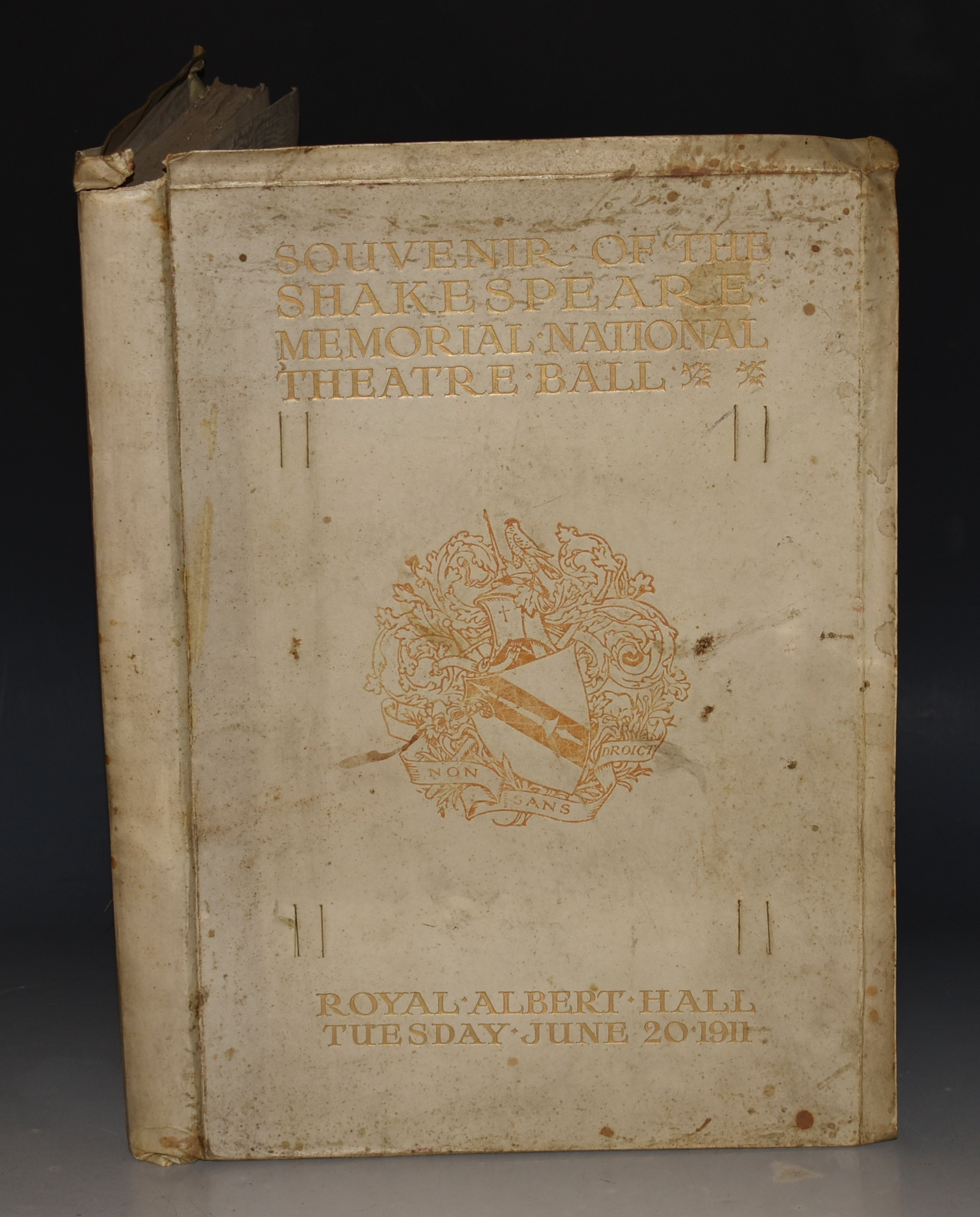 Image for Shakespeare Memorial Souvenir of the Shakespeare Ball 1616-1916