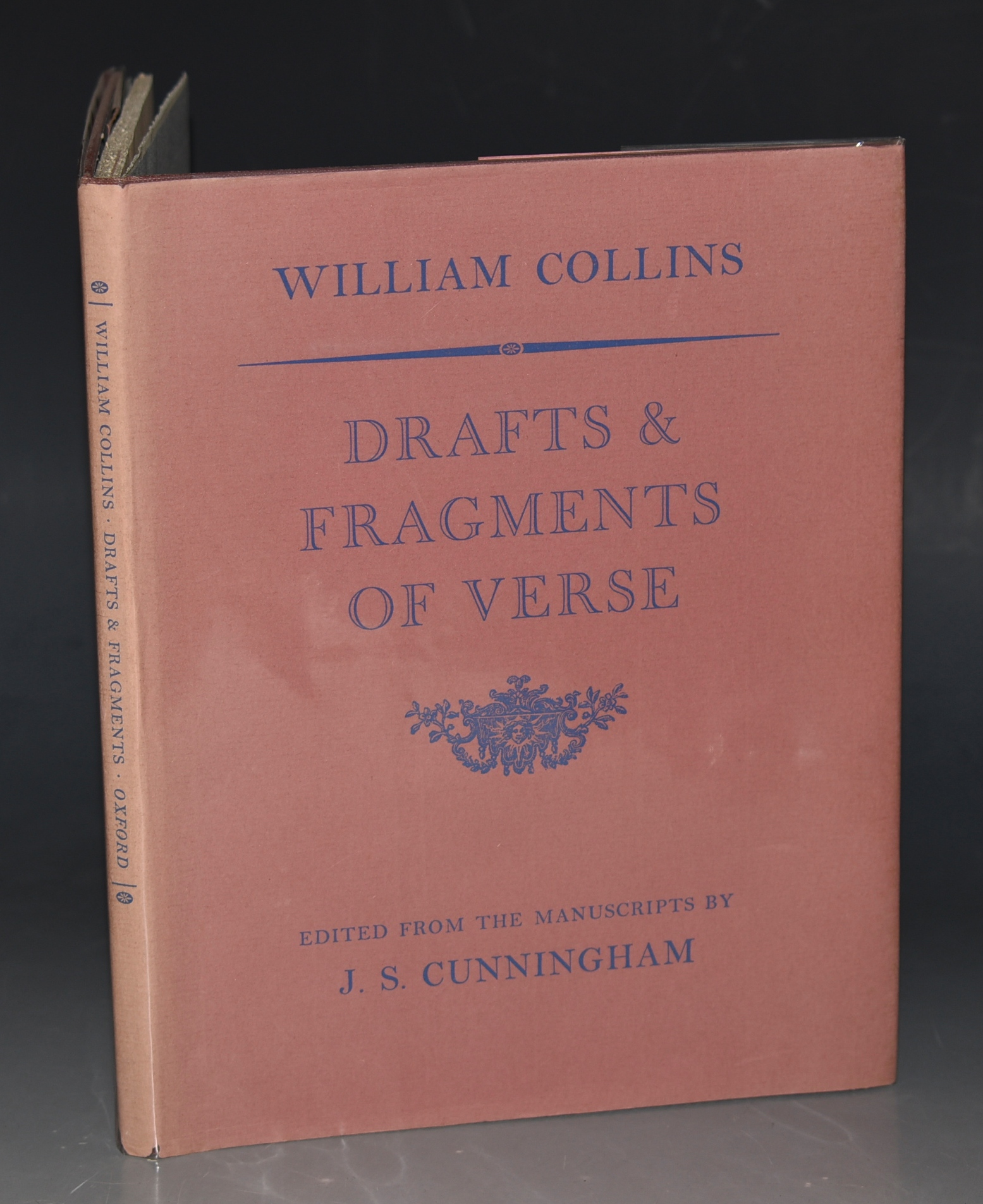 Image for Drafts & Fragments of Verse. Edited from the Manuscripts by J. S. Cunningham.