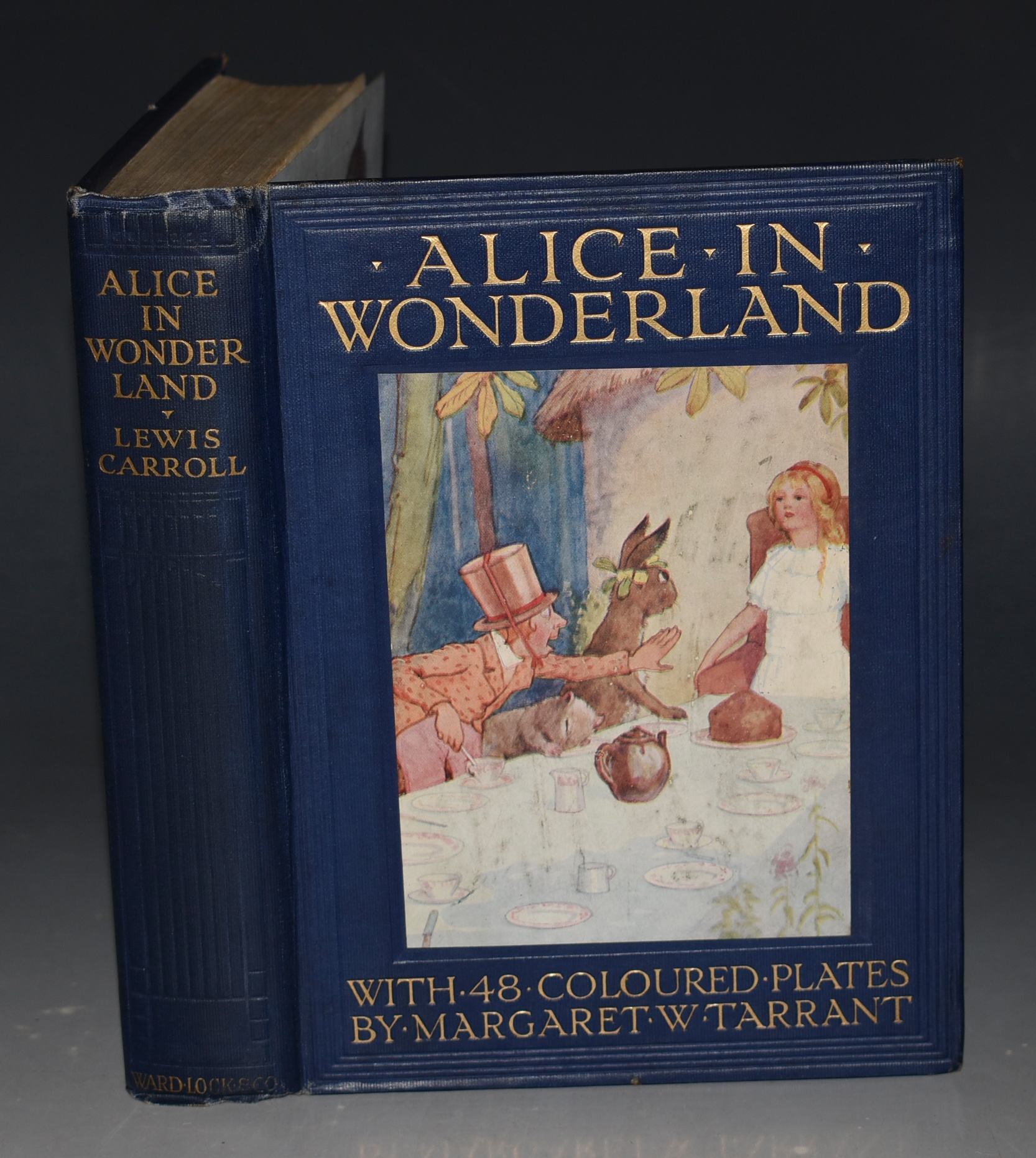 Image for Alice's Adventures in Wonderland. With 48 coloured plates by Margaret W. Tarrant. Second edition.