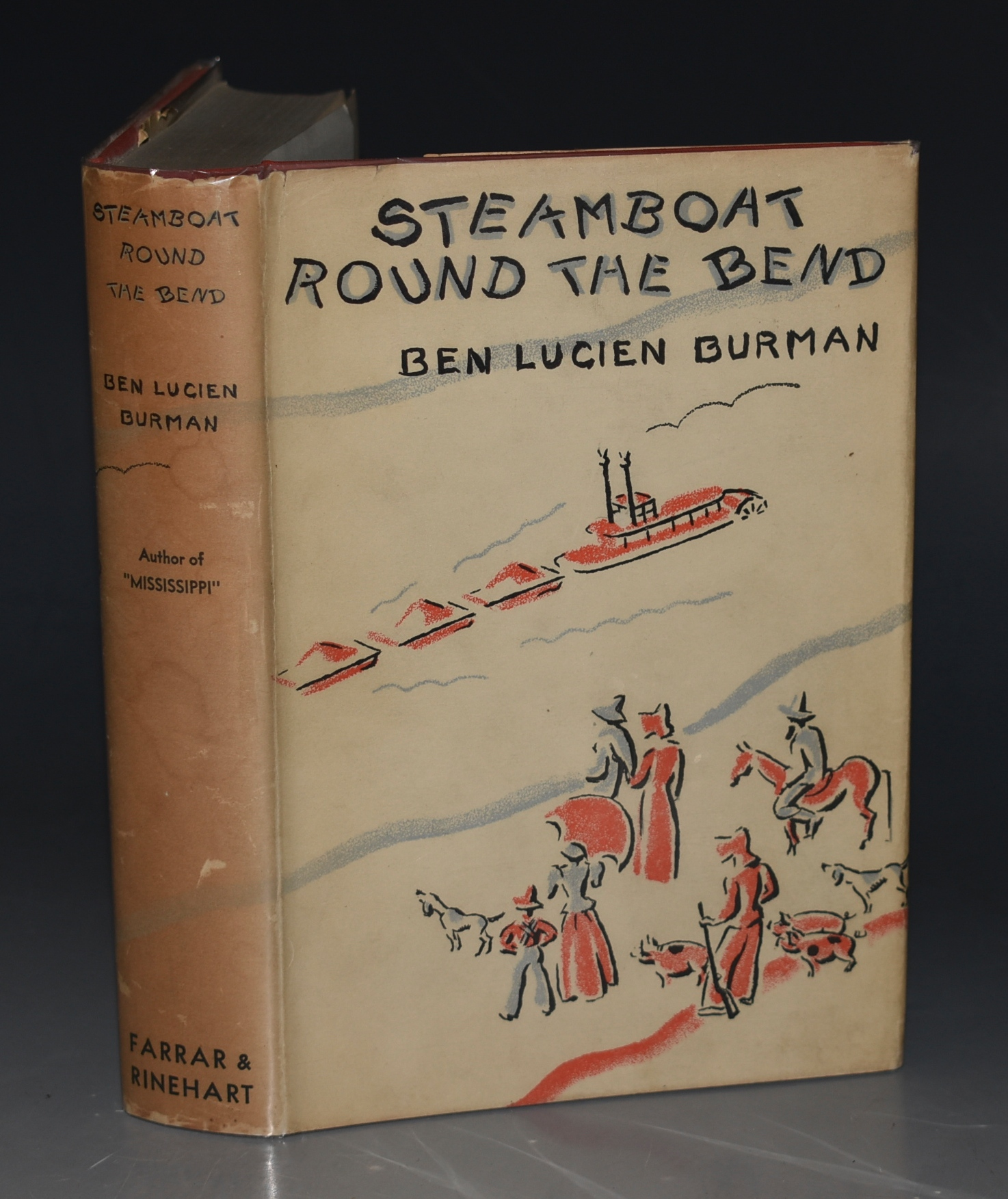 Image for Steamboat Round The Bend With Sketches by Alice Caddy. SIGNED BY AUTHOR.