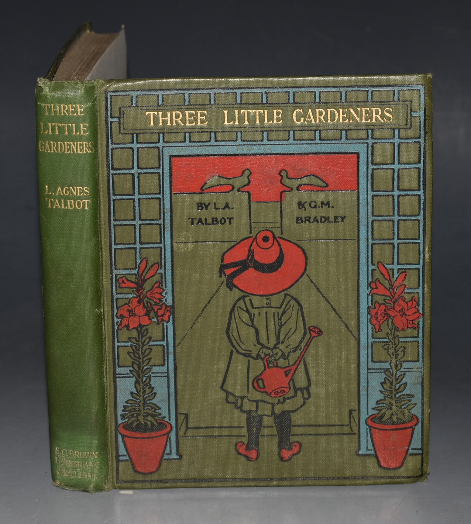 Image for Three Little Gardeners Illustrated by Gertrude M. Bradley.