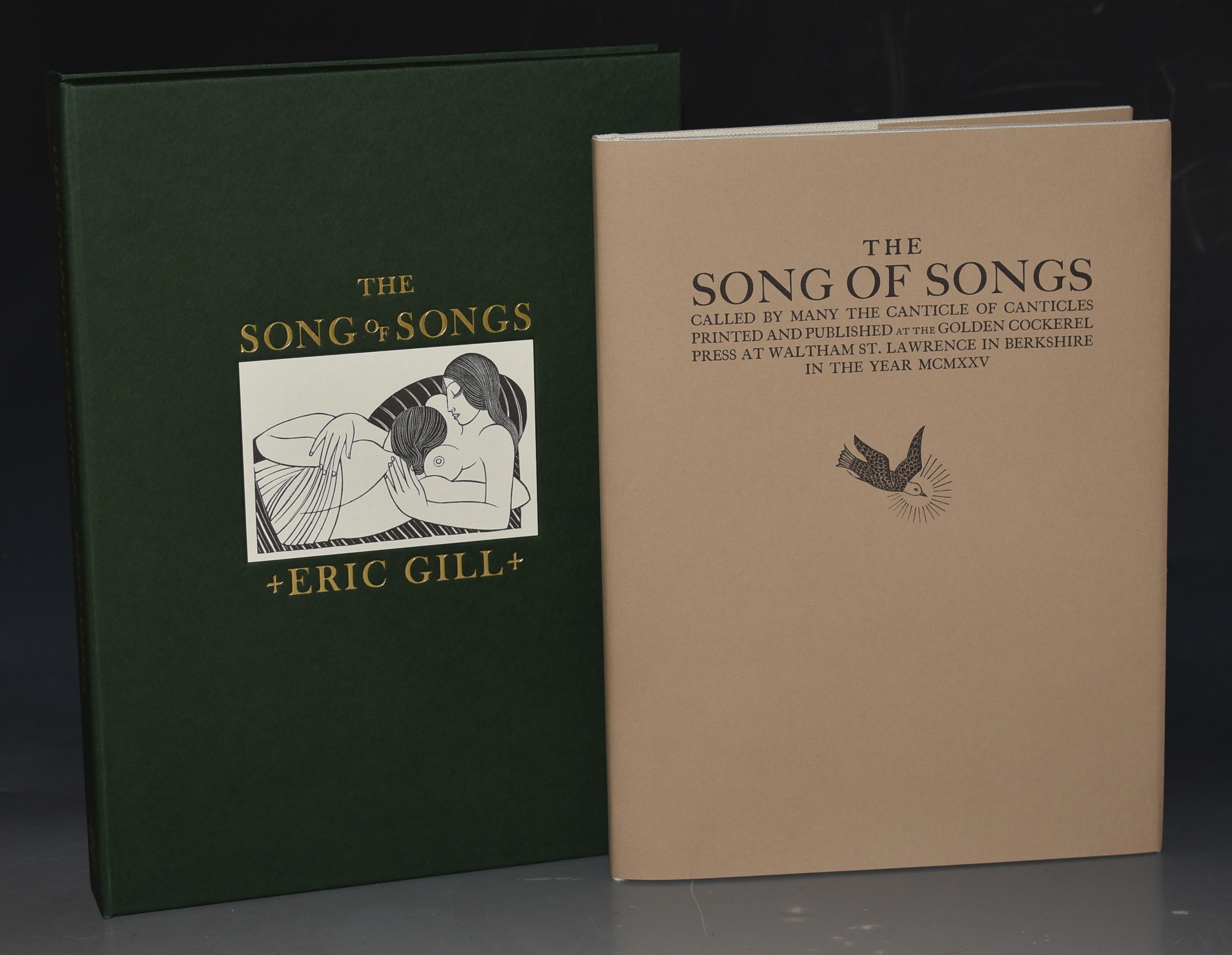 Image for The Songs of Songs Called by many The Canticle of Canticles. Limited Numbered Cased Edition. Facsimile of the 1925 Golden Cockerel Press Edition. With an Essay by Sebastian Carter.