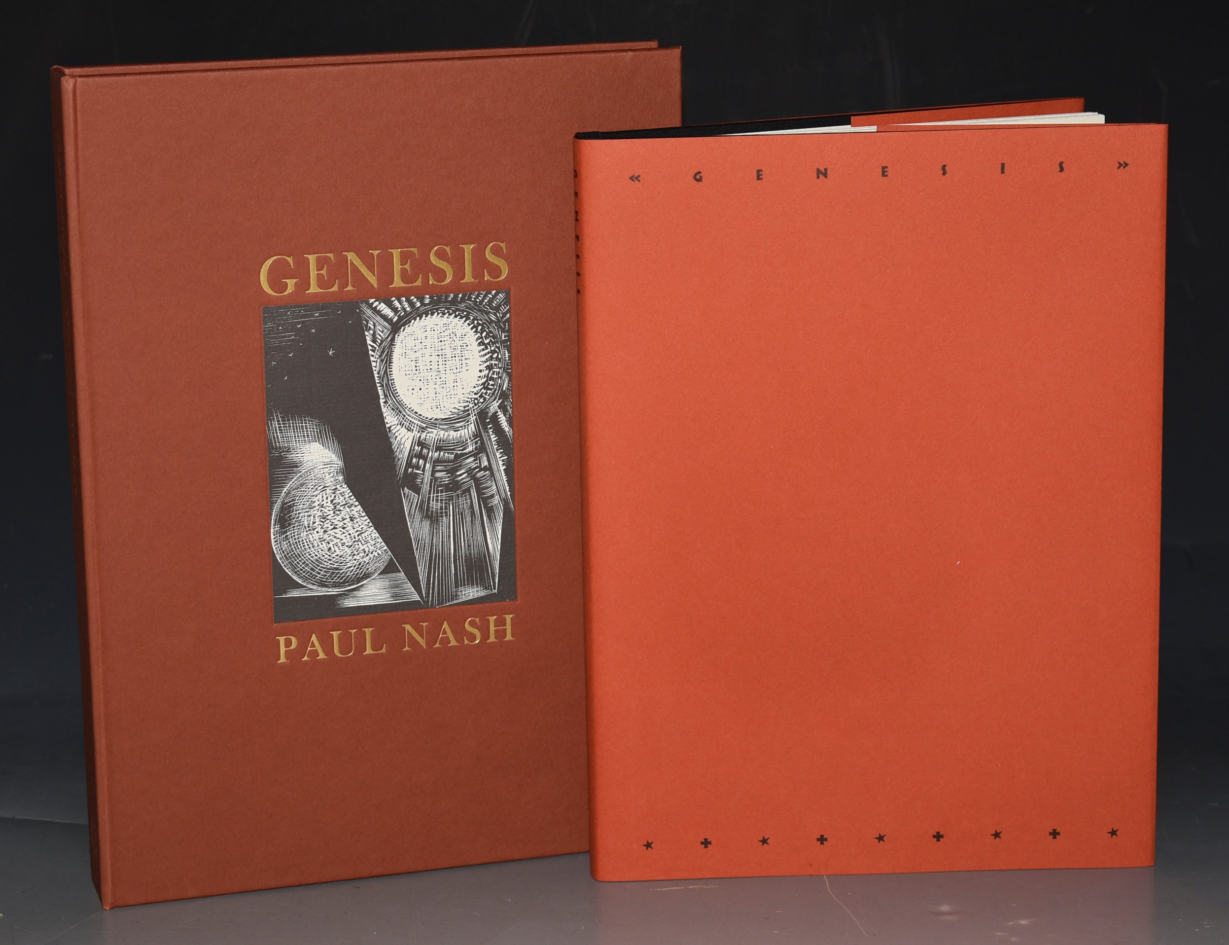 Image for Genesis Twelve Woodcuts by Paul Nash with the First Chapter of Genesis in the Authorised Version. Limited Numbered Cased Edition. Facsimile of the 1924 Nonesuch Press Edition. With an Essay by Sebastian Carter.