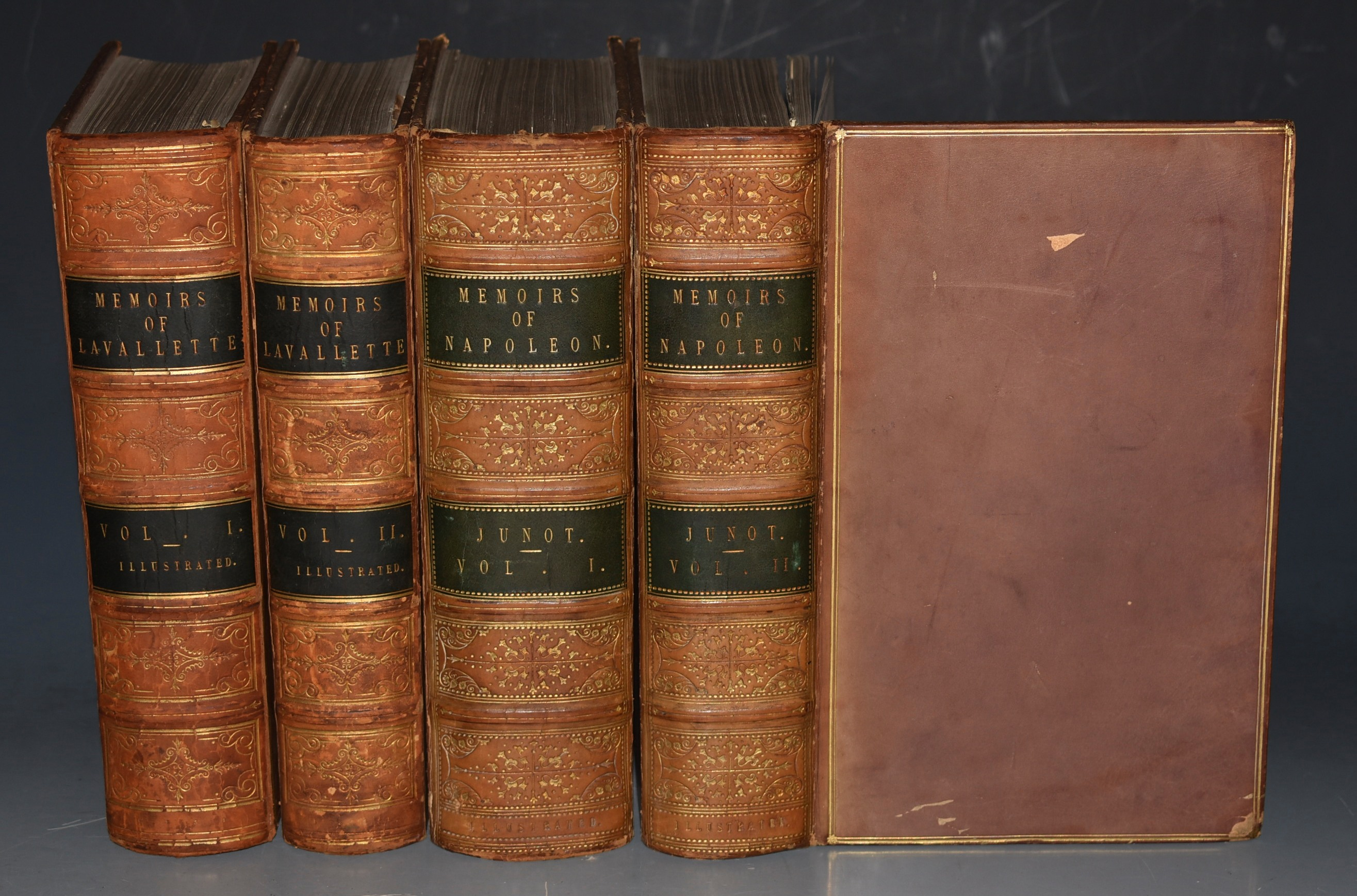 Image for Memoirs Of Count Lavallette AND Memoirs of Napoleon. Four Volumes. (Two Vols each. ) Presentation Copies - Inscribed by Richard Bentley to William Upcott.