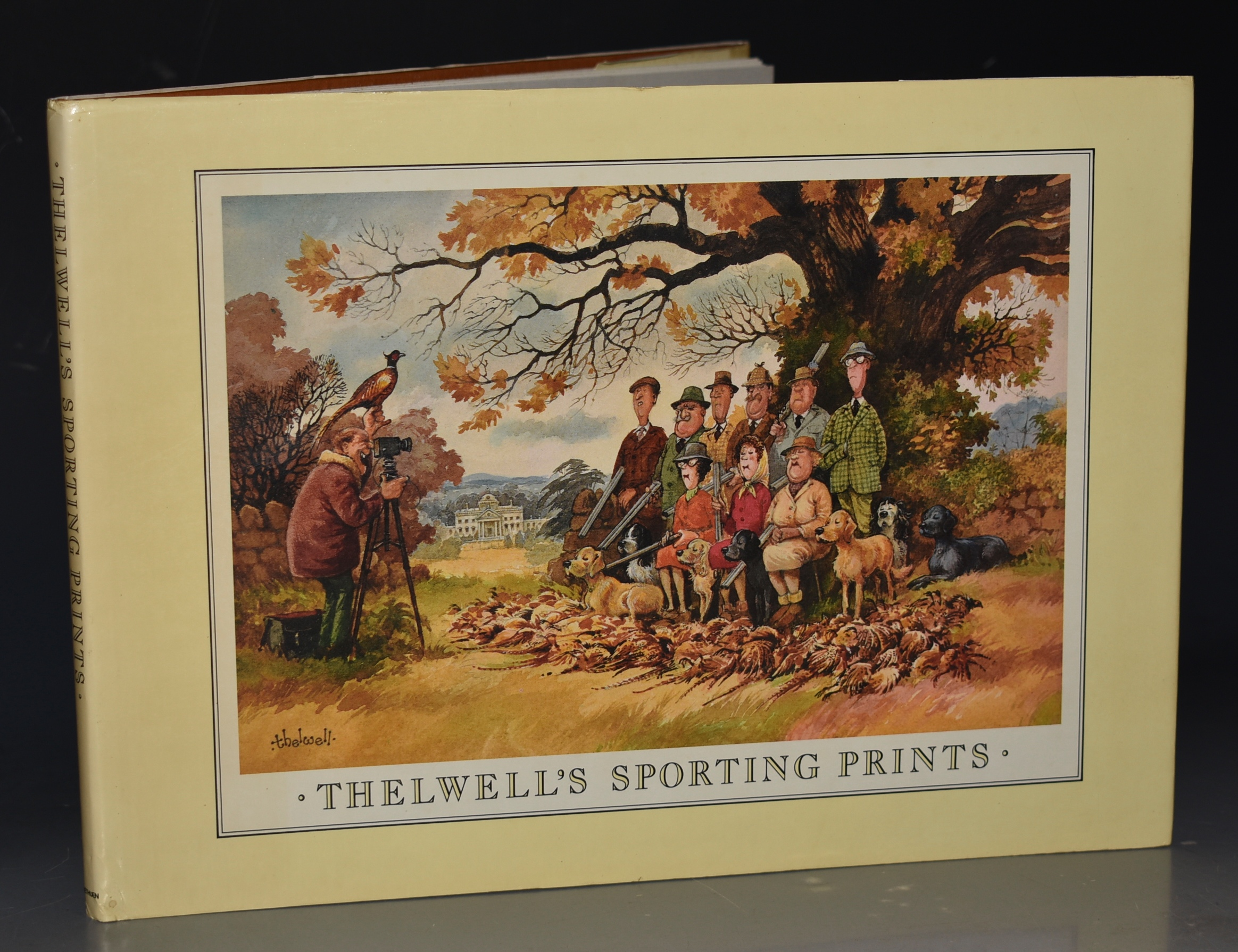 Image for Thelwell's Sporting Prints. Signed copy.