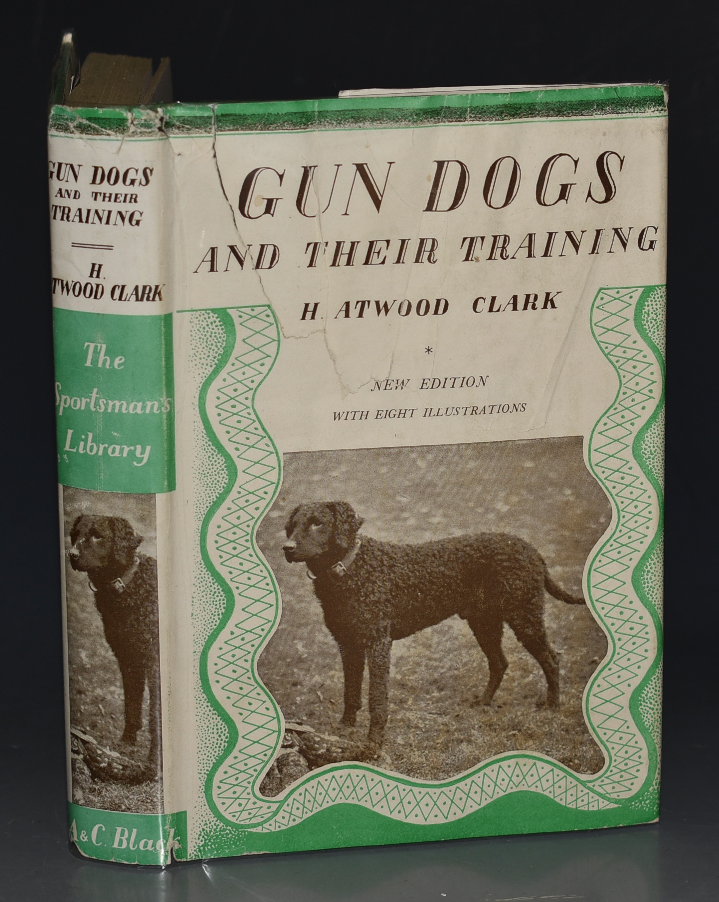 "Image for Gun Dogs and Their Training With Eight Plates from Photographs. ""The Sportsmans Library."""