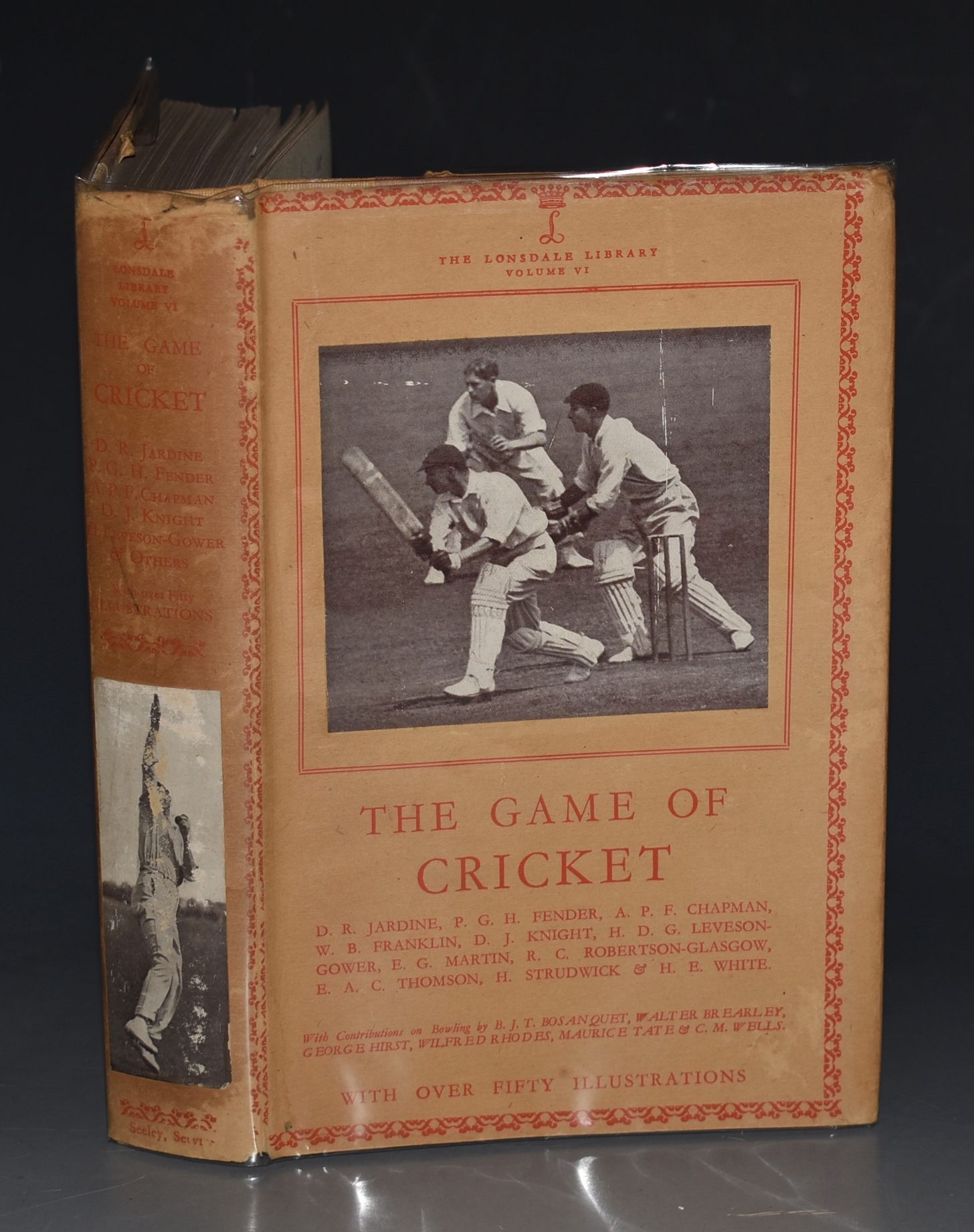 Image for The Game of Cricket. (The Lonsdale Library Vol. VI).