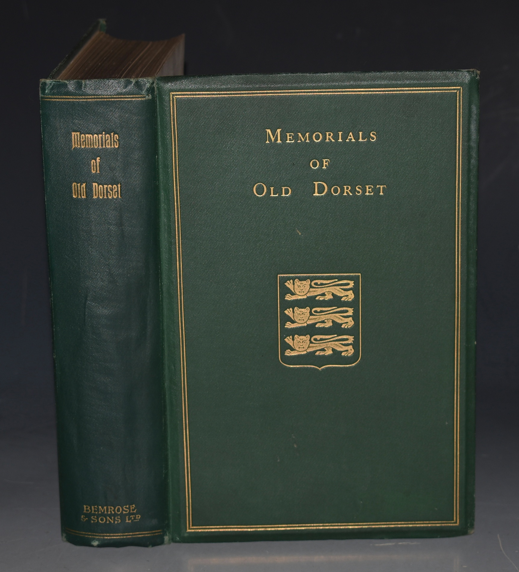 "Image for Memorials of Old Dorset. With many illustrations. ""Memorials of the Counties of England"" Series. General Editor, Rev. P. H. Ditchfield."