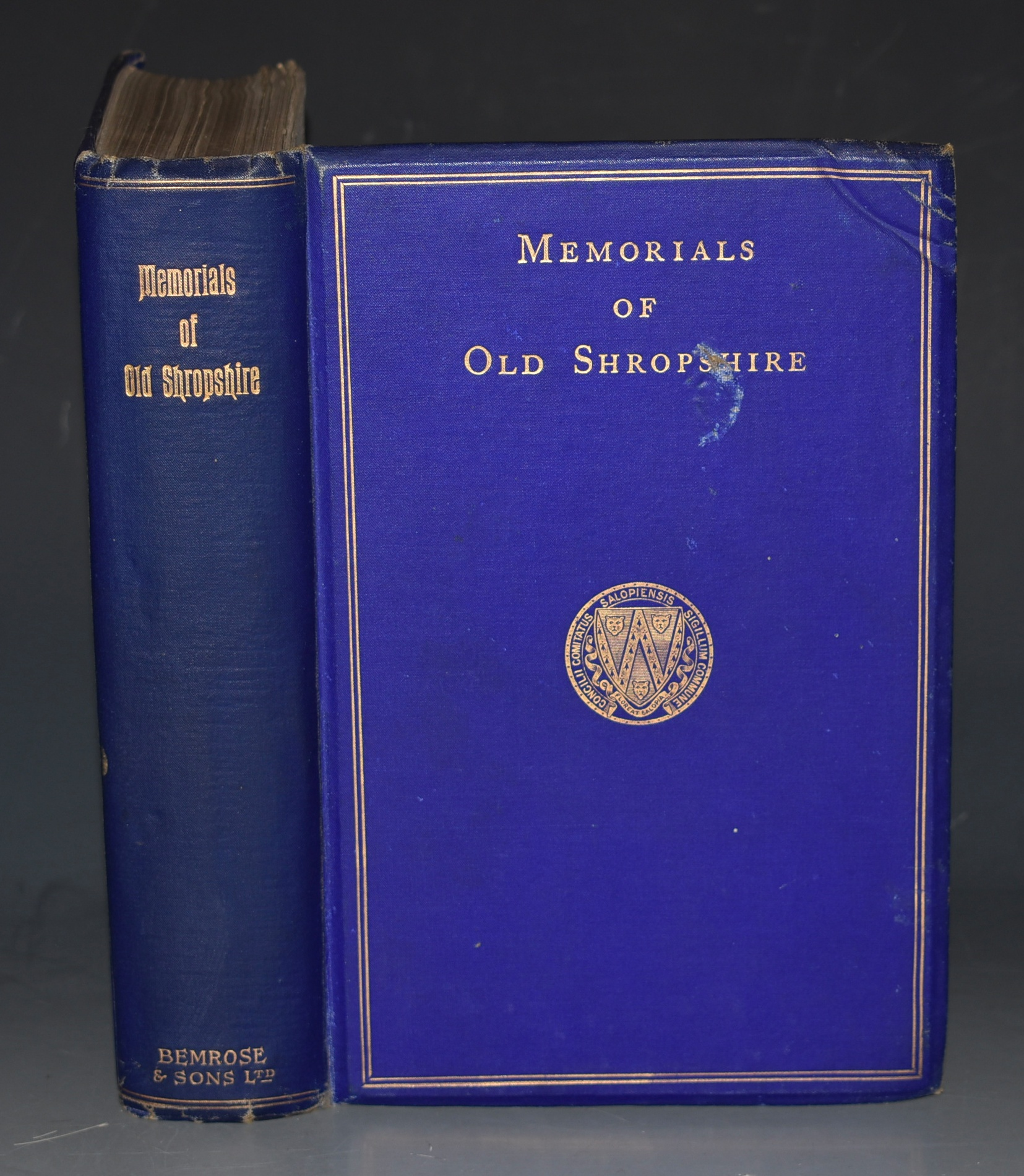 "Image for Memorials of Old Shropshire. With many illustrations. ""Memorials of the Counties of England"" Series."