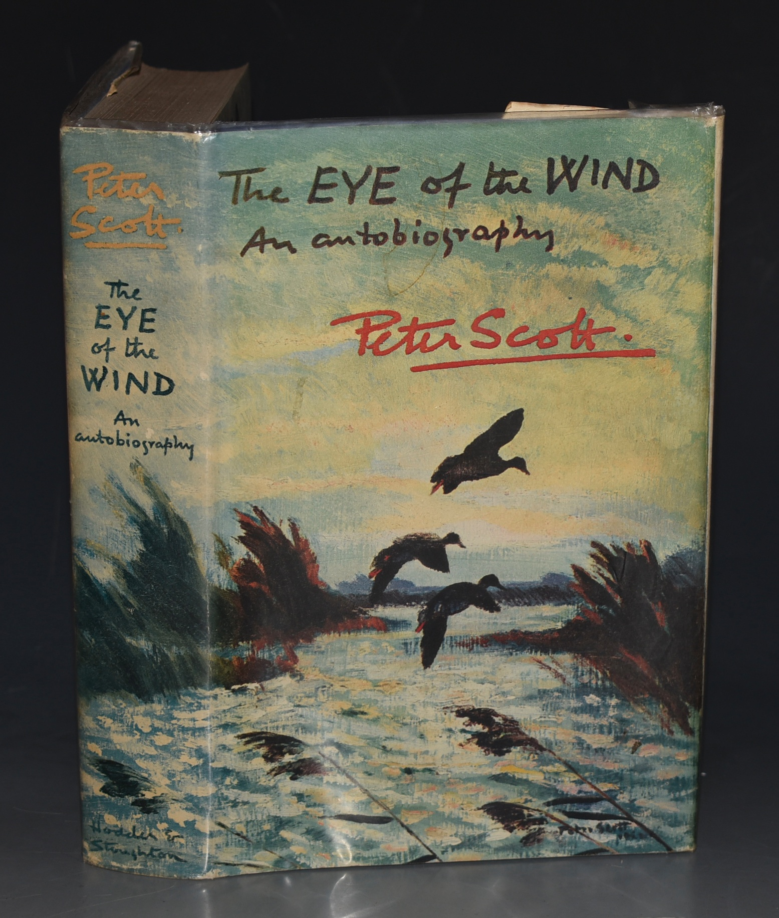 Image for The Eye of The Wind. An Autobiography. SIGNED COPY
