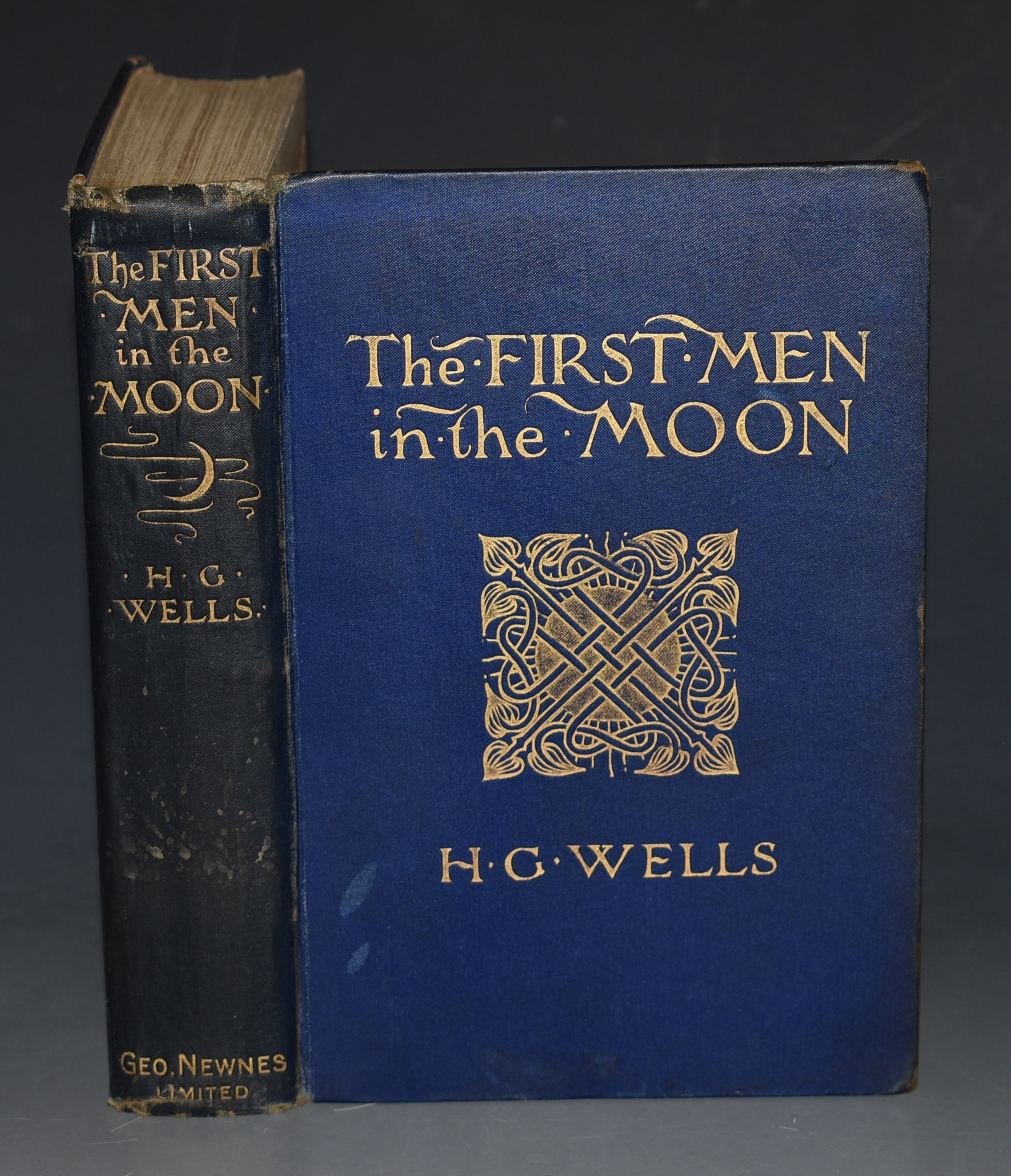 Image for The First Men in the Moon.