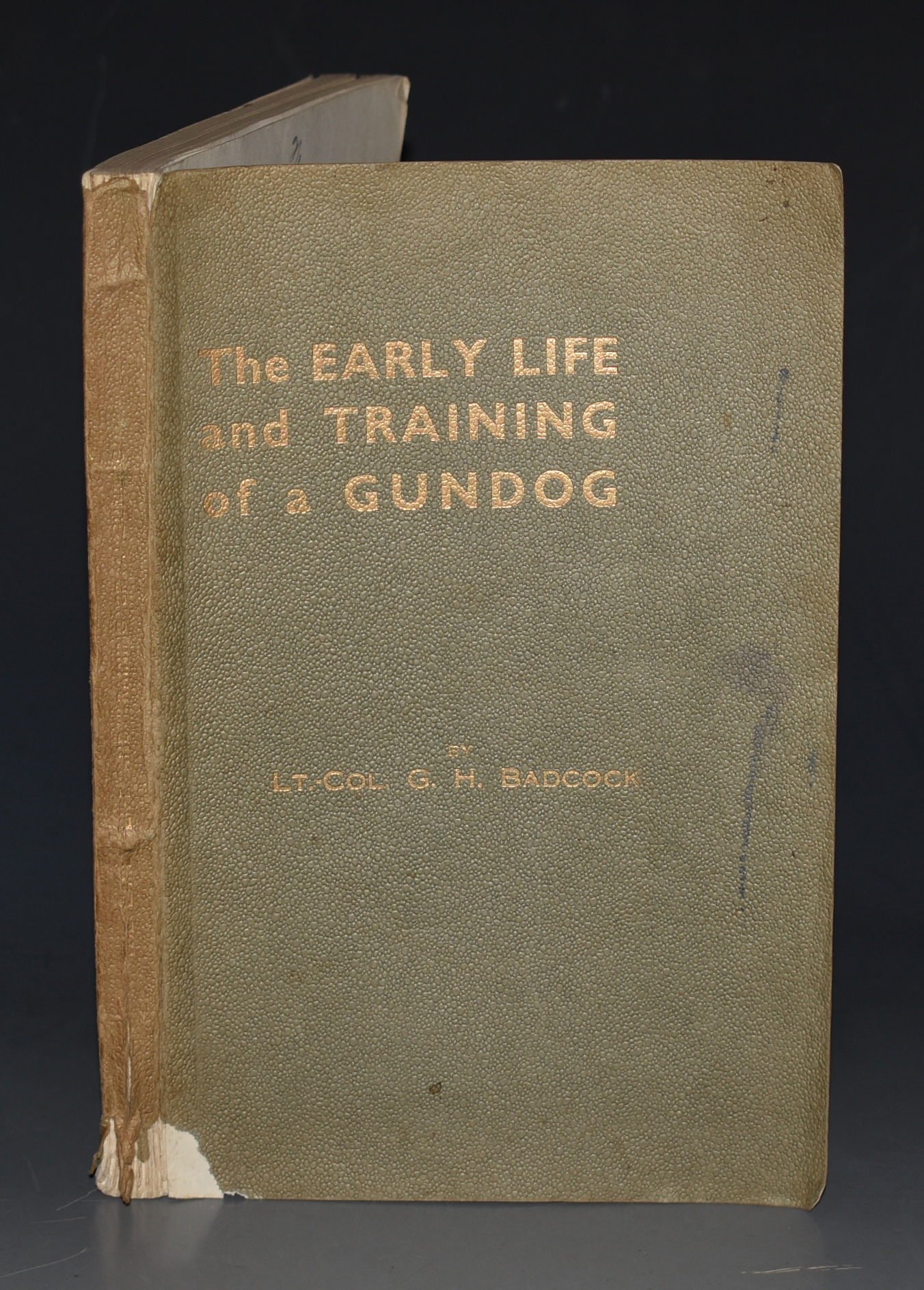 Image for The Early Life and Training of a Gundog With a foreword by Lord Lonsdale.