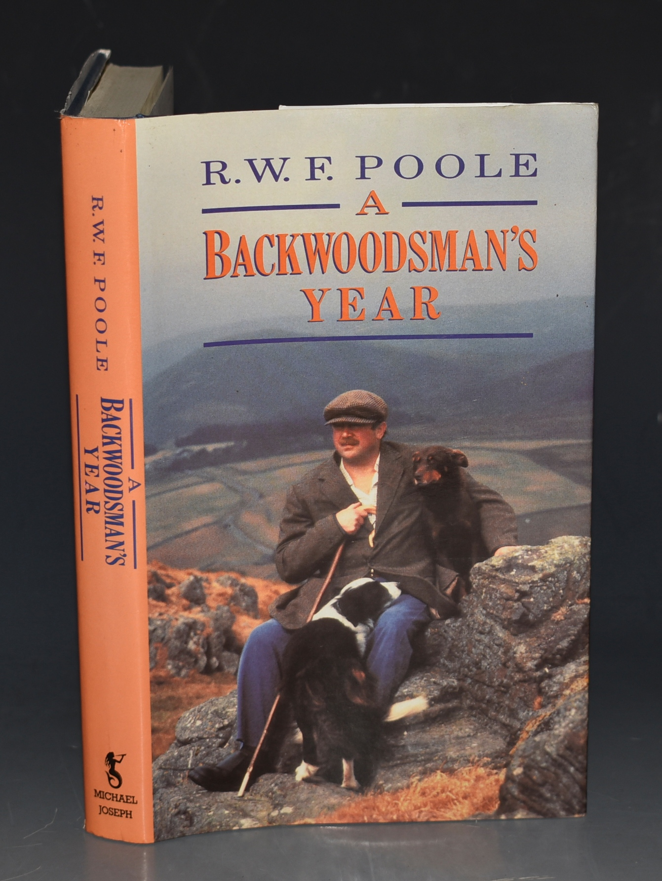 Image for A Backwoodsman's Year Illustrations by Reginald Bass.