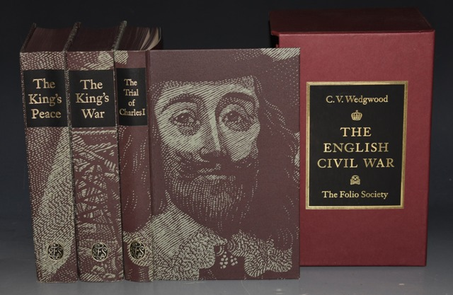 Image for The English Civil War. The King's Peace; The Trial of Charles I; The King's War. Three Volumes in Slipcase.