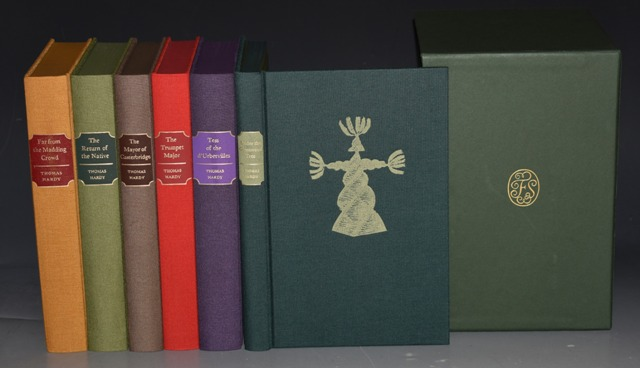 Image for The Folio Society Works of Thomas Hardy. In Six Volumes. Tess of the d'Urbervilles / Under the Greenwood Tree / Far from the Madding Crowd / The Return of the Native / The Trumpet Major / The Mayor of Casterbridge. BOXED.