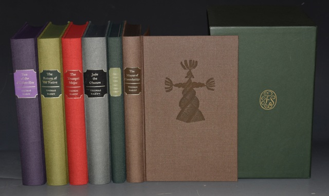 Image for The Folio Society Works of Thomas Hardy. In Six Volumes. Tess of the d'Urbervilles / Under the Greenwood Tree / Jude the Obscure / The Return of the Native / The Trumpet Major / The Mayor of Casterbridge. BOXED.