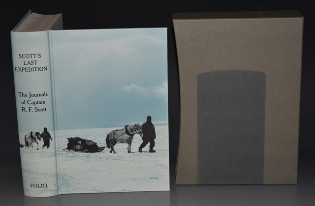Image for Scott's Last Expedition. The Journals of Captain R. F. Scott. Illustrated with photographs by Herbert Ponting.