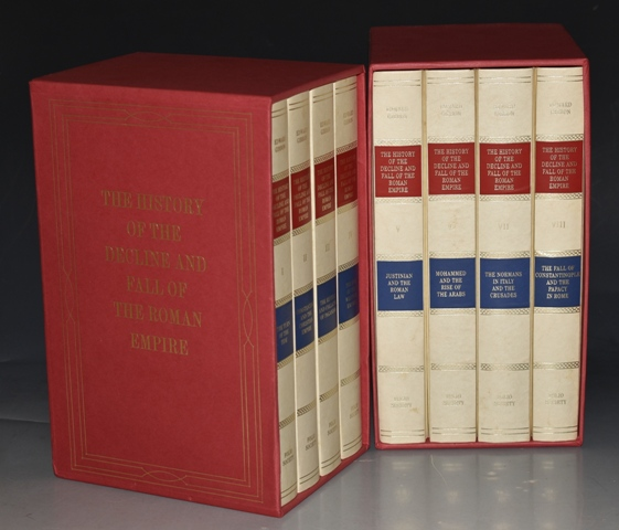 Image for The History of The Decline and Fall of the Roman Empire. Edited and with an introduction by Betty Radice. Eight volumes. In Slipcases.