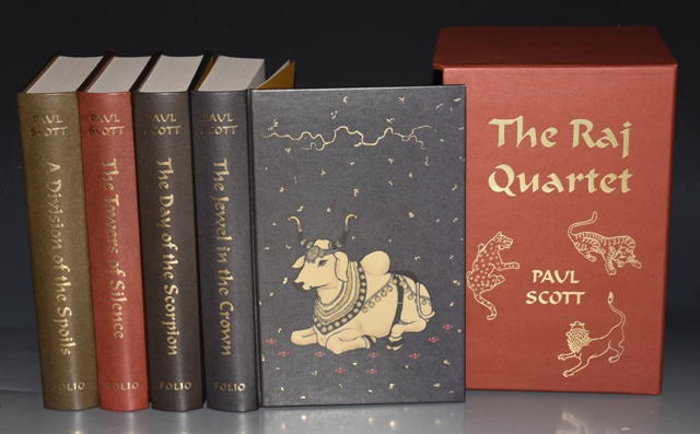 Image for The Raj Quartet. 4 Volumes in Slipcase. The Jewel in the Crown; The Day of the Scorpion; A Division of the Spoils; The Towers of Silence.