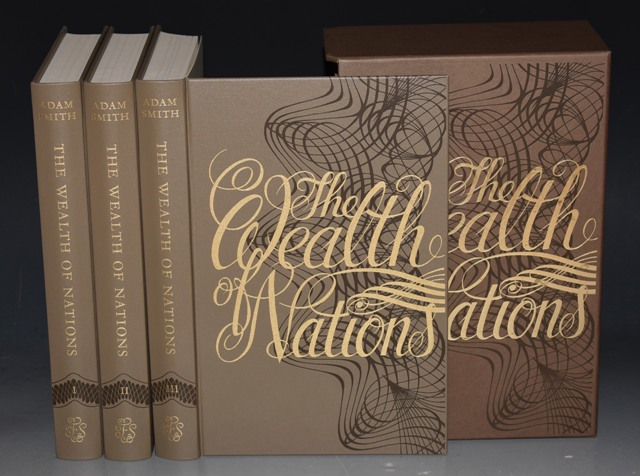 Image for The Wealth of Nations An Inquiry into the Nature and Causes of The Wealth of Nations. Three Volumes. Introduced by John Kenneth Galbraith.