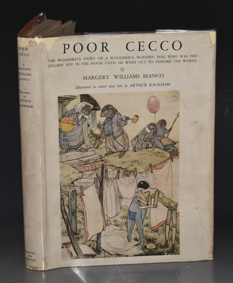 Image for Poor Cecco. Illustrated by Arthur Rackham.