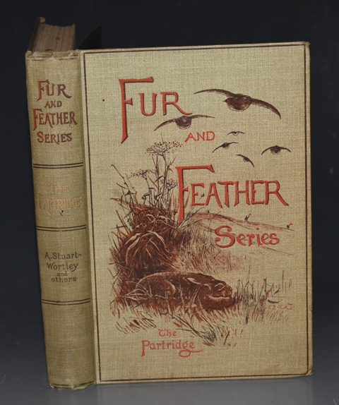 Image for The Partridge. Fur, Feather & Fin Series. Natural History by Rev. H. A. Macpherson. Shooting by A. J. Stuart-Wortley. Cookery by George Saintsbury. With Illustrations by A.J. Stuart-Wortley, A. Thorburn and C. Whymper. First Edition.