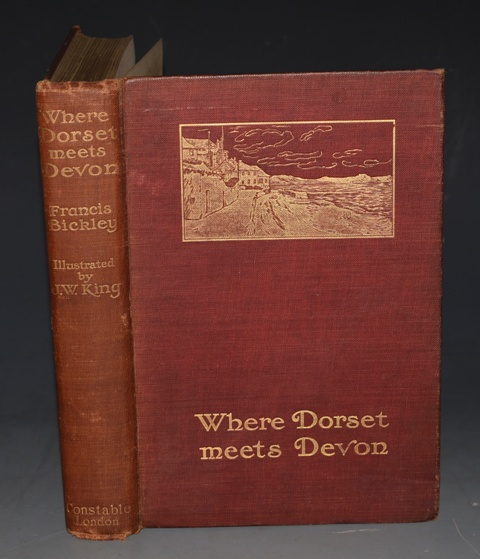 Image for Where Dorset Meets Devon. Illustrated by J. W. King.